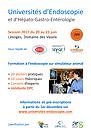 Session 2017 des Universités d'Endoscopie et d'Hépato-Gastro-Entérologie du 20 au 23 juin à Limoges : informations et pré-inscriptions