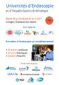 Programme des Universités d'Endoscopie et d'Hépato-Gastro-Entérologie 2017